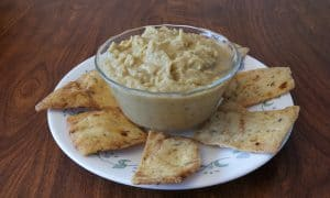 low fat jalapeño hummus
