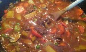 Nothing Screams Comfort Food Like A Big Pot Of Homemade Stew Slow Simmered Veggies Potatoes And Mushrooms In A Rich Thick Gravy