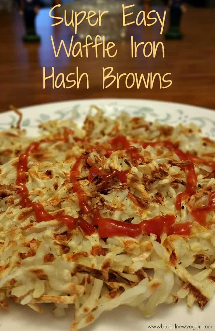 waffle iron hash brown