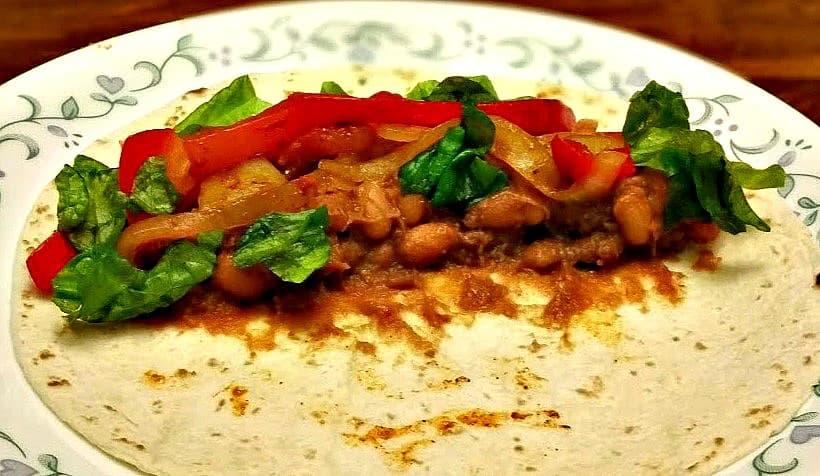 Vegan Bean Fajitas