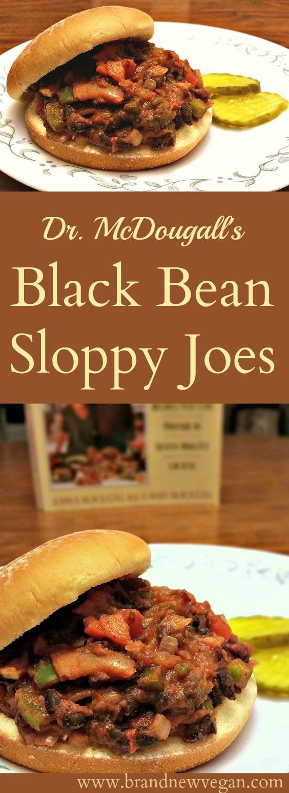 black bean sloppy joe pin