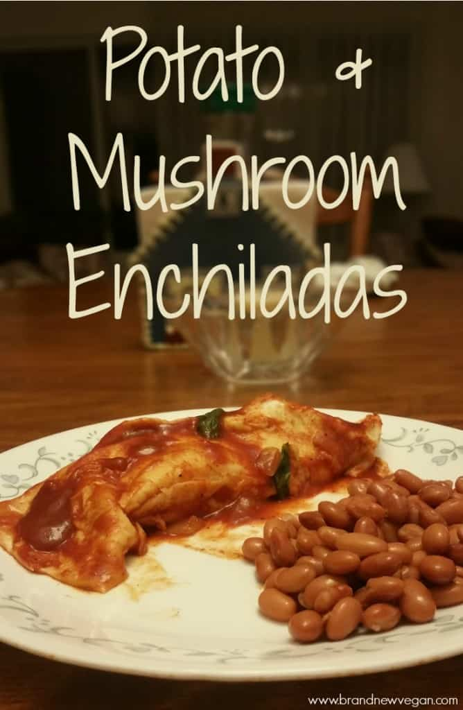 potato enchiladas
