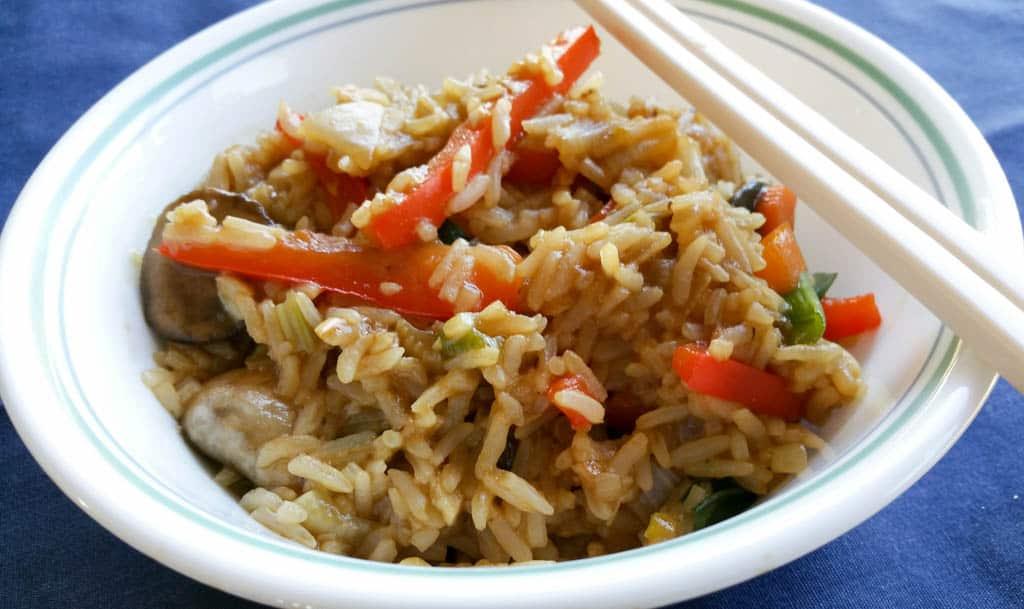 Garlic Veg Fried Rice