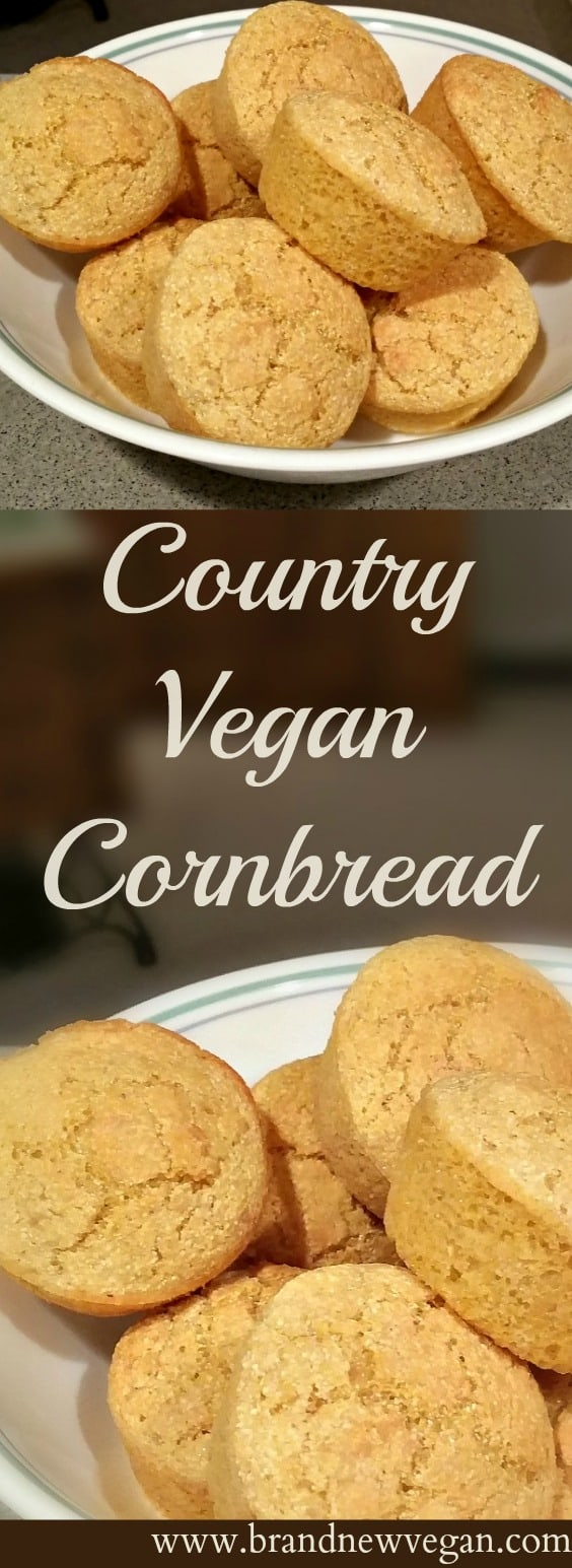 vegan cornbread pin