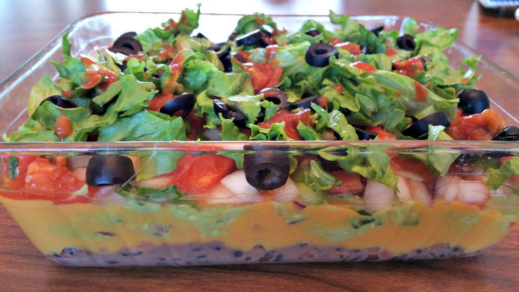 Mexican 7 Layer Dip - Brand New Vegan