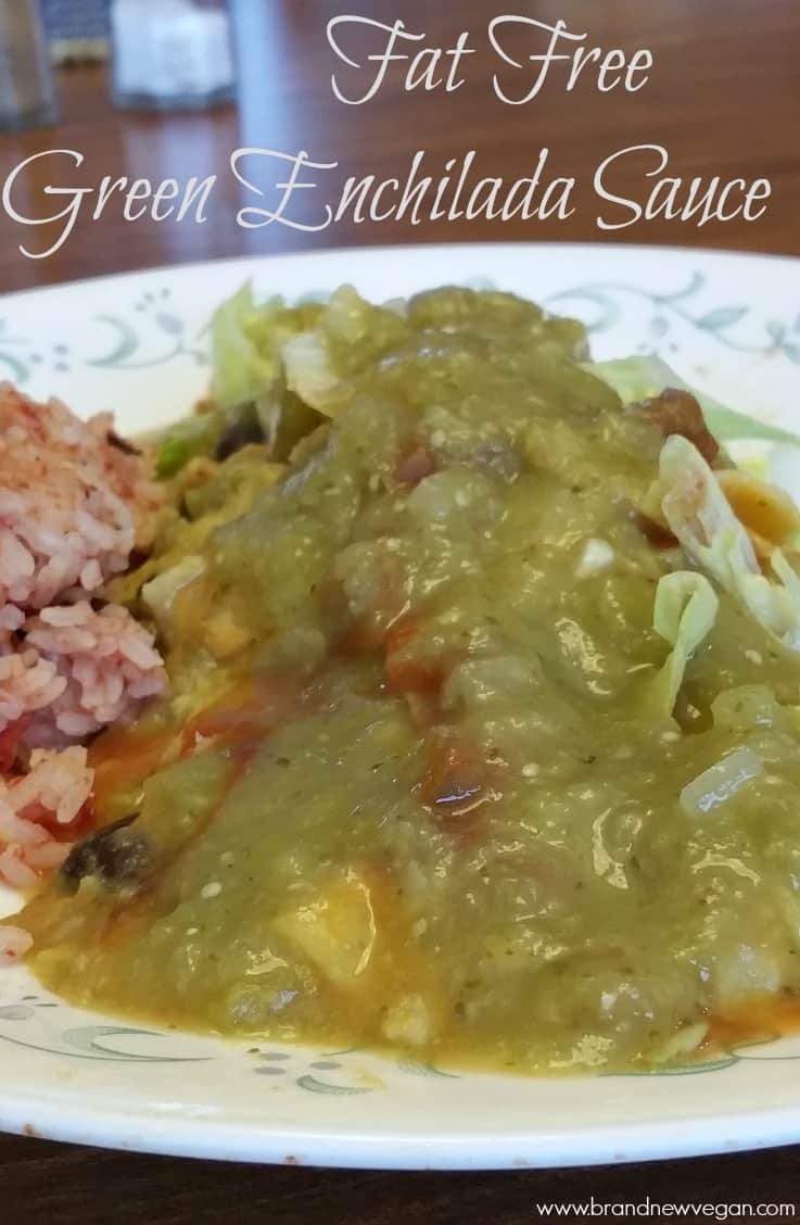 How to make green enchilada sauce recipe