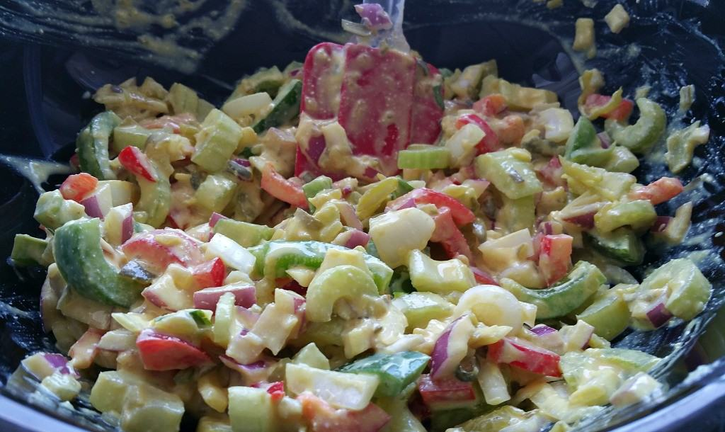 Creamy Vegan Potato Salad - Brand New Vegan