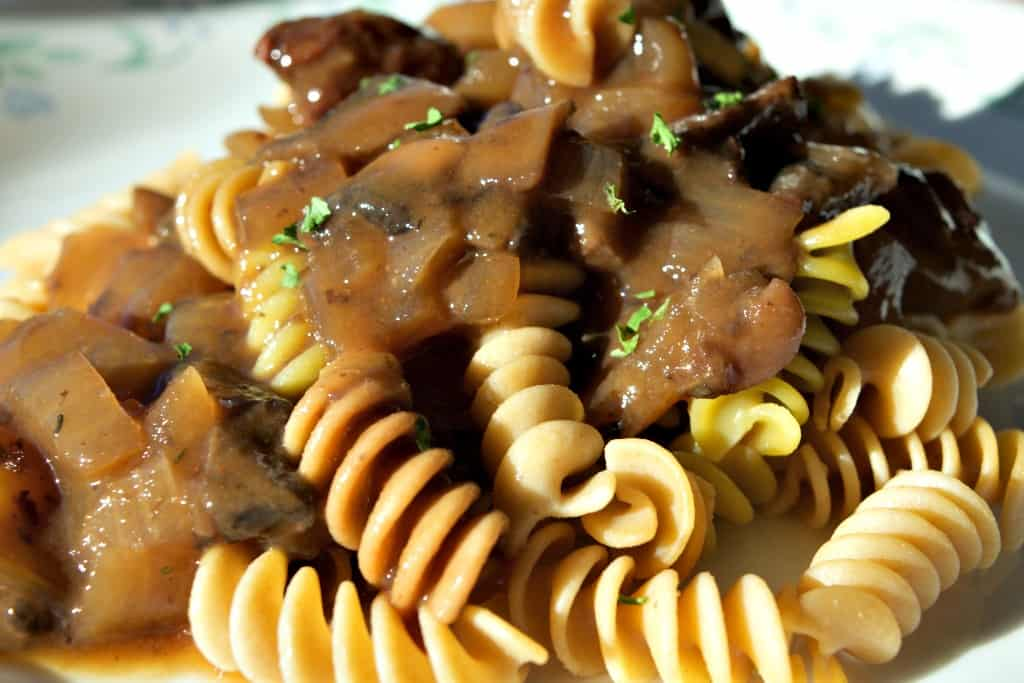 ... healthier take on a French favorite – Vegan Mushroom Bourguignon