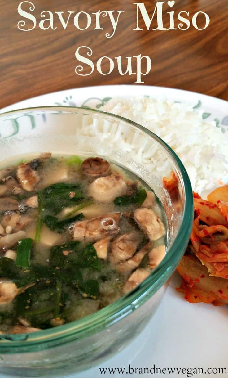 savory miso soup pin