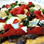 black bean tostadas