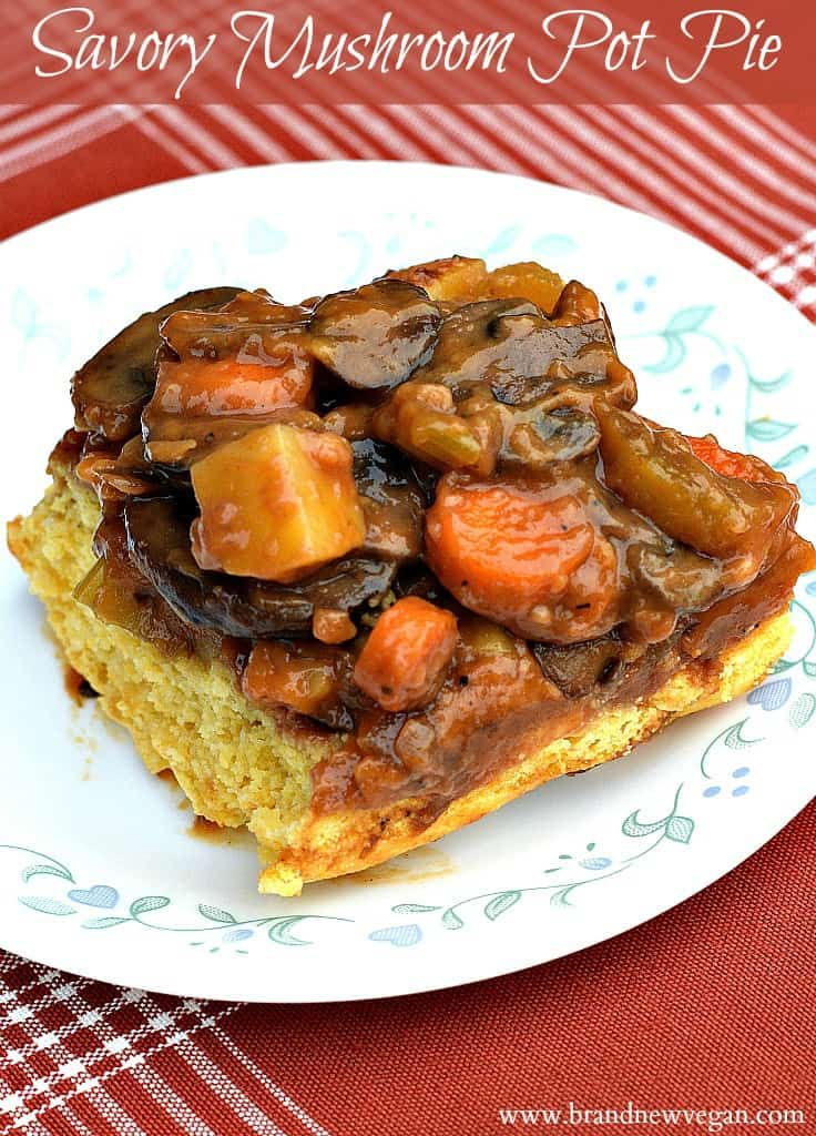 mushroom pot pie pin