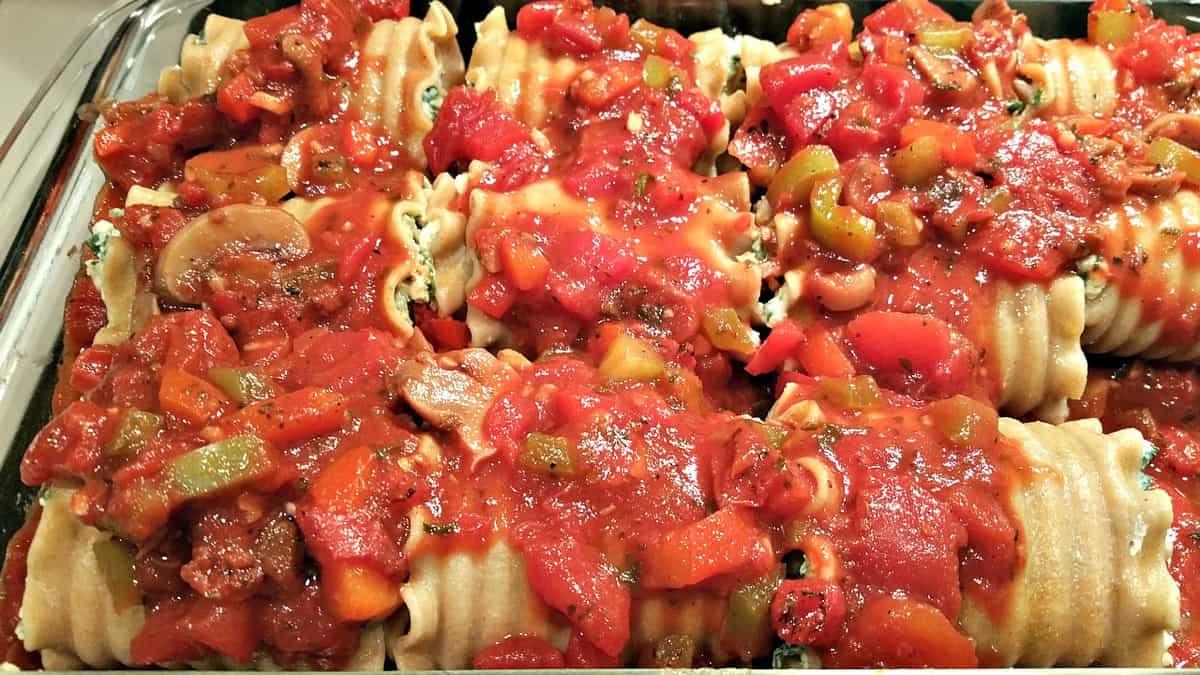 Vegan Lasagna Rollups