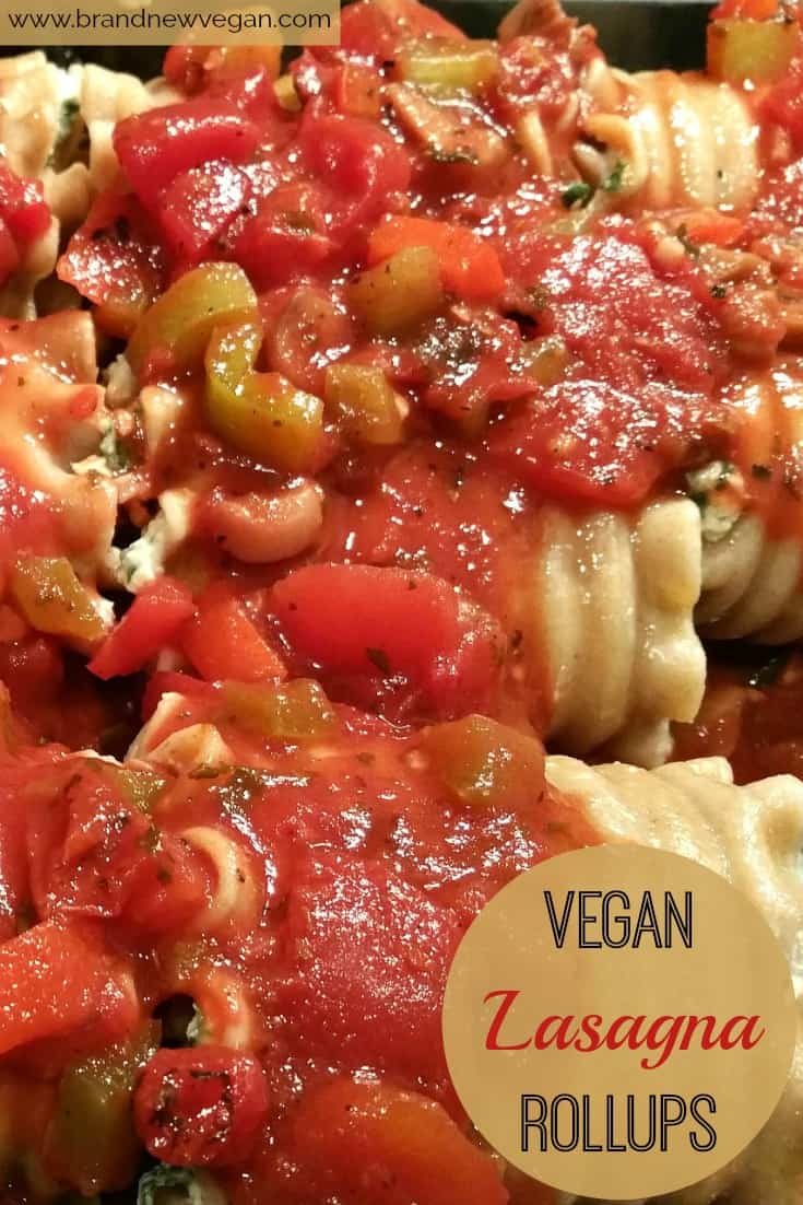 These delicious Vegan Lasagna Rollups are an excellent way to introduce Plant-Based Recipes to your family and friends. Rich, elegant, and satisfying.