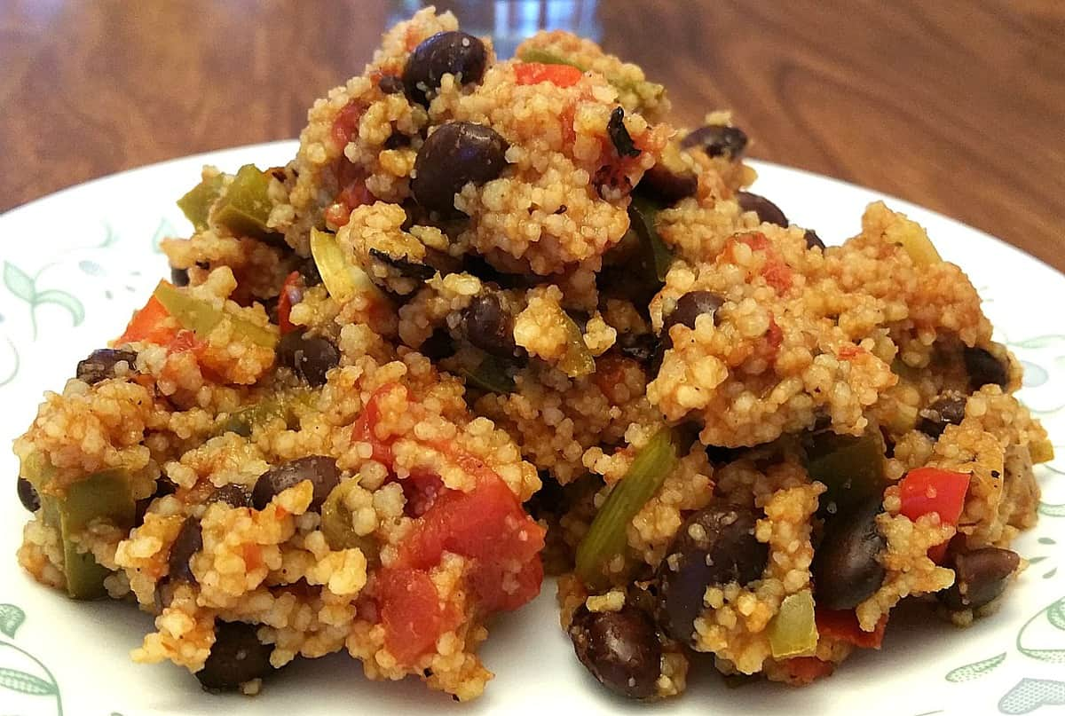 One Pot Mexican Couscous