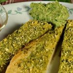 avocado pesto breadsticks