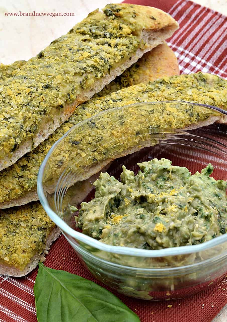 avocado pesto breadsticks 2