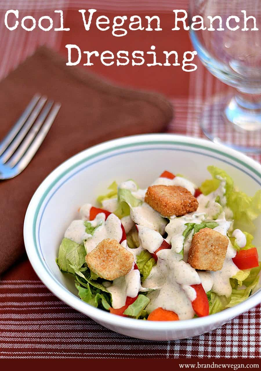 Vegan Ranch Dressing pin