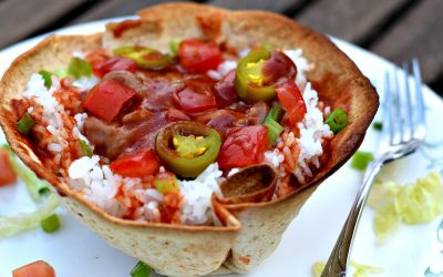 Crispy Vegan Taco Bowls