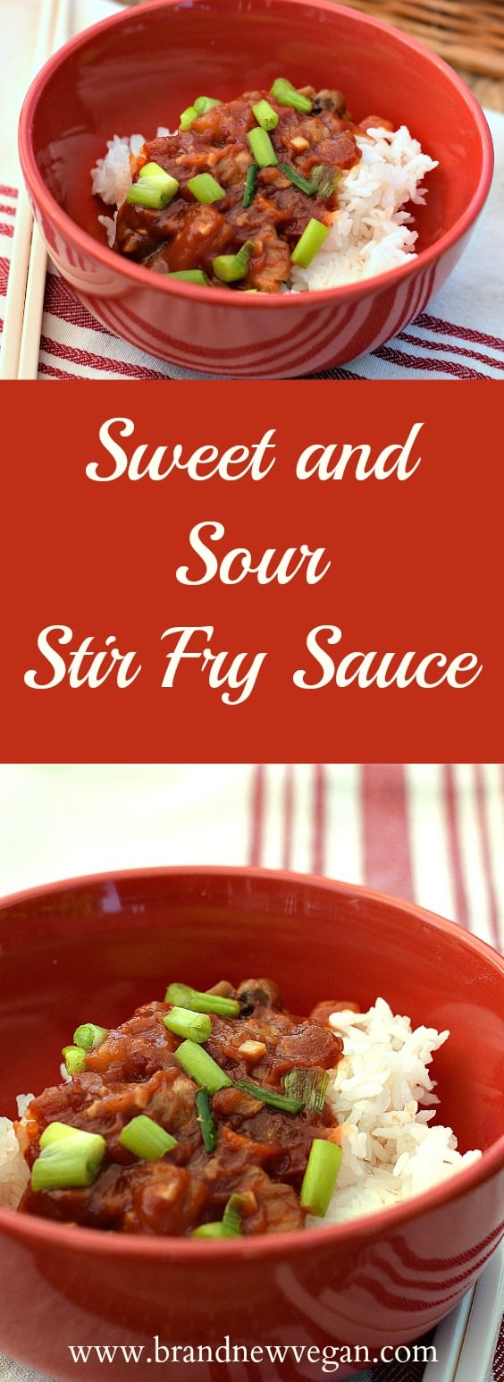 sweet and sour stir fry sauce