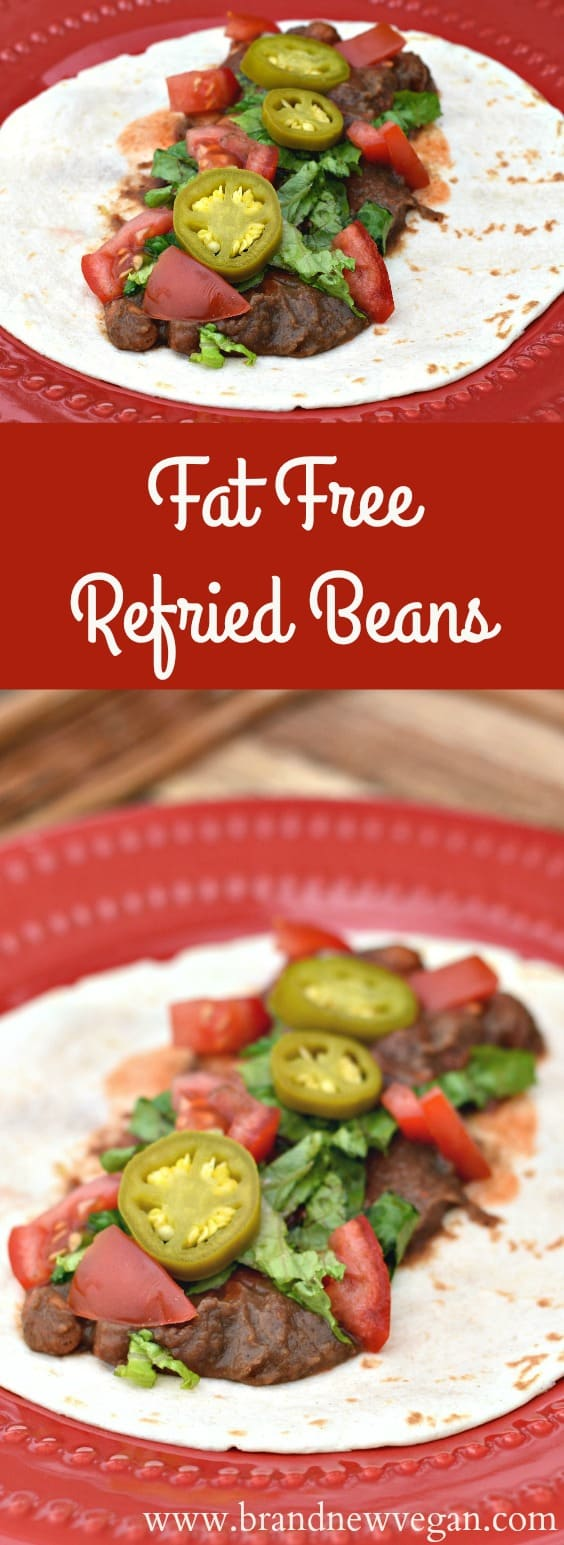 fat free refried beans pin