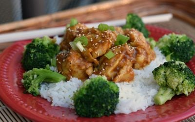 Vegan Sesame Chicken