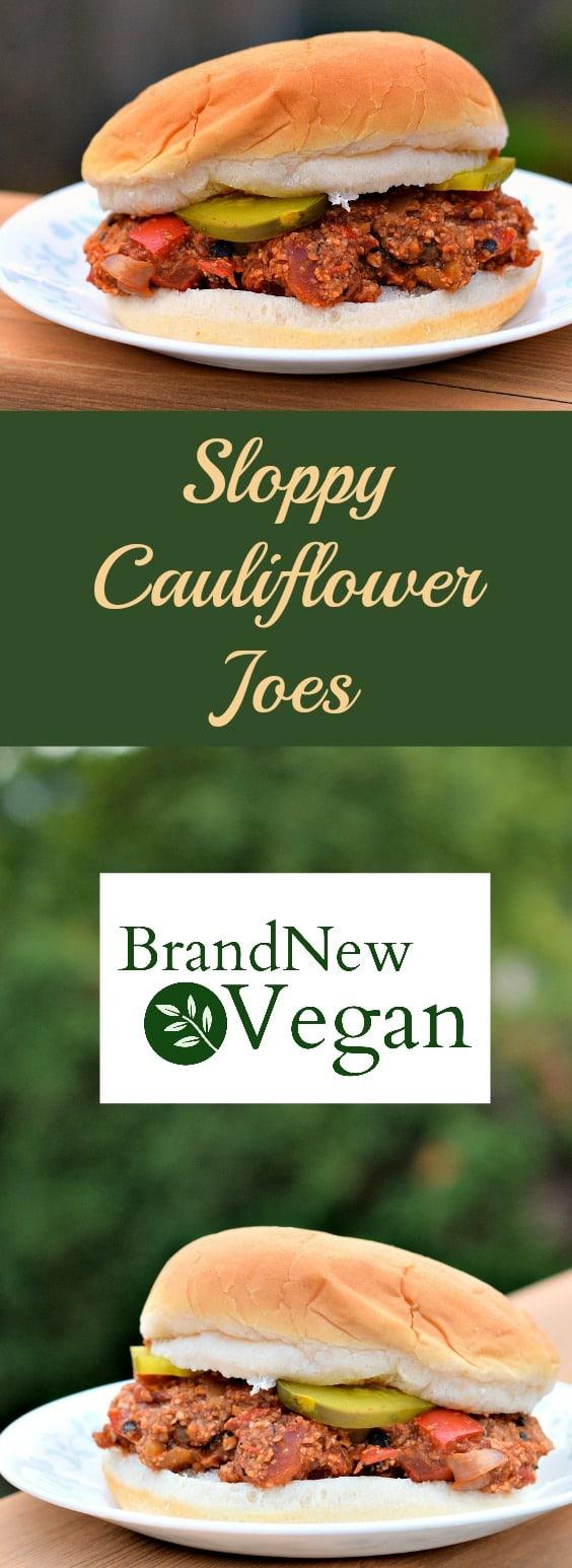 cauliflower sloppy joes pin