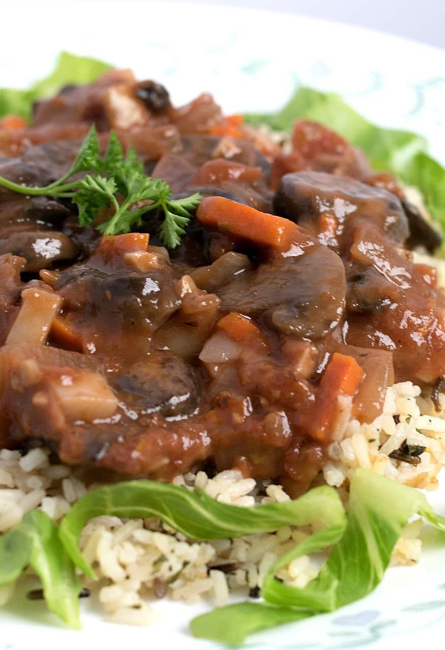 mushroom-stew