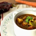 Vegan Green Chile Stew 2