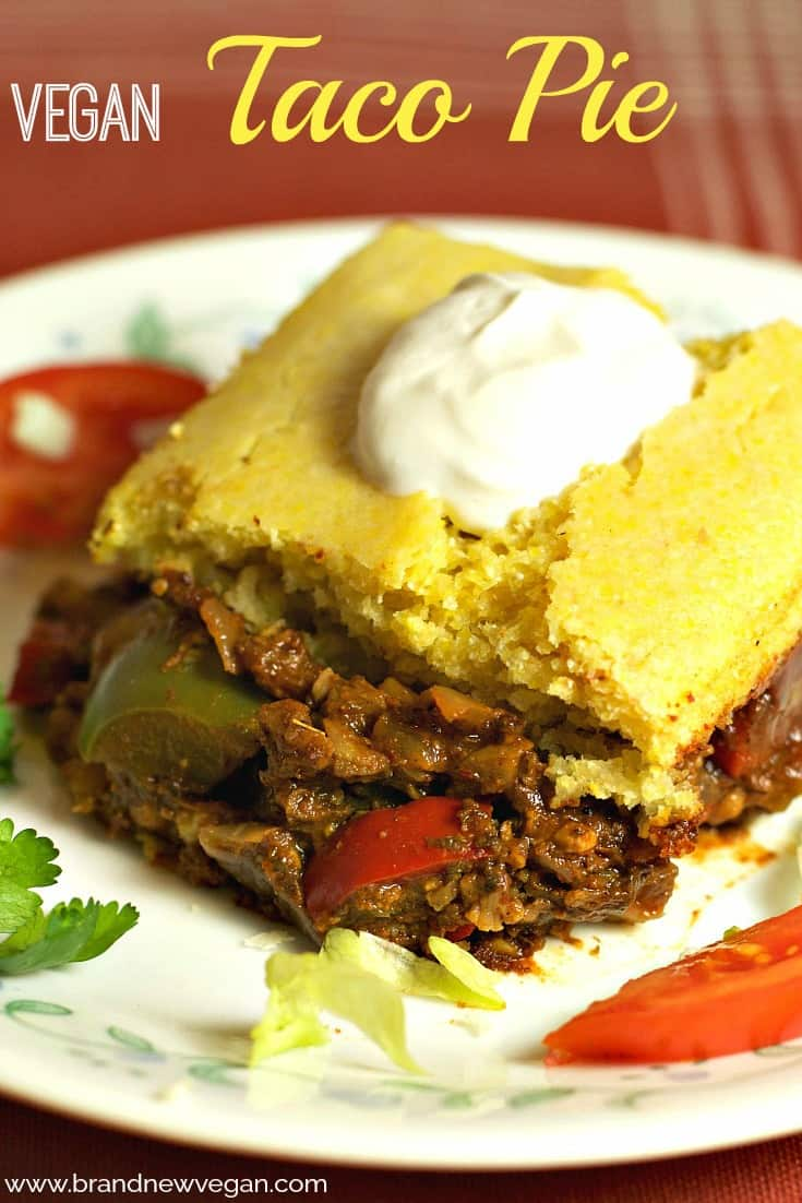 vegan taco pie pin