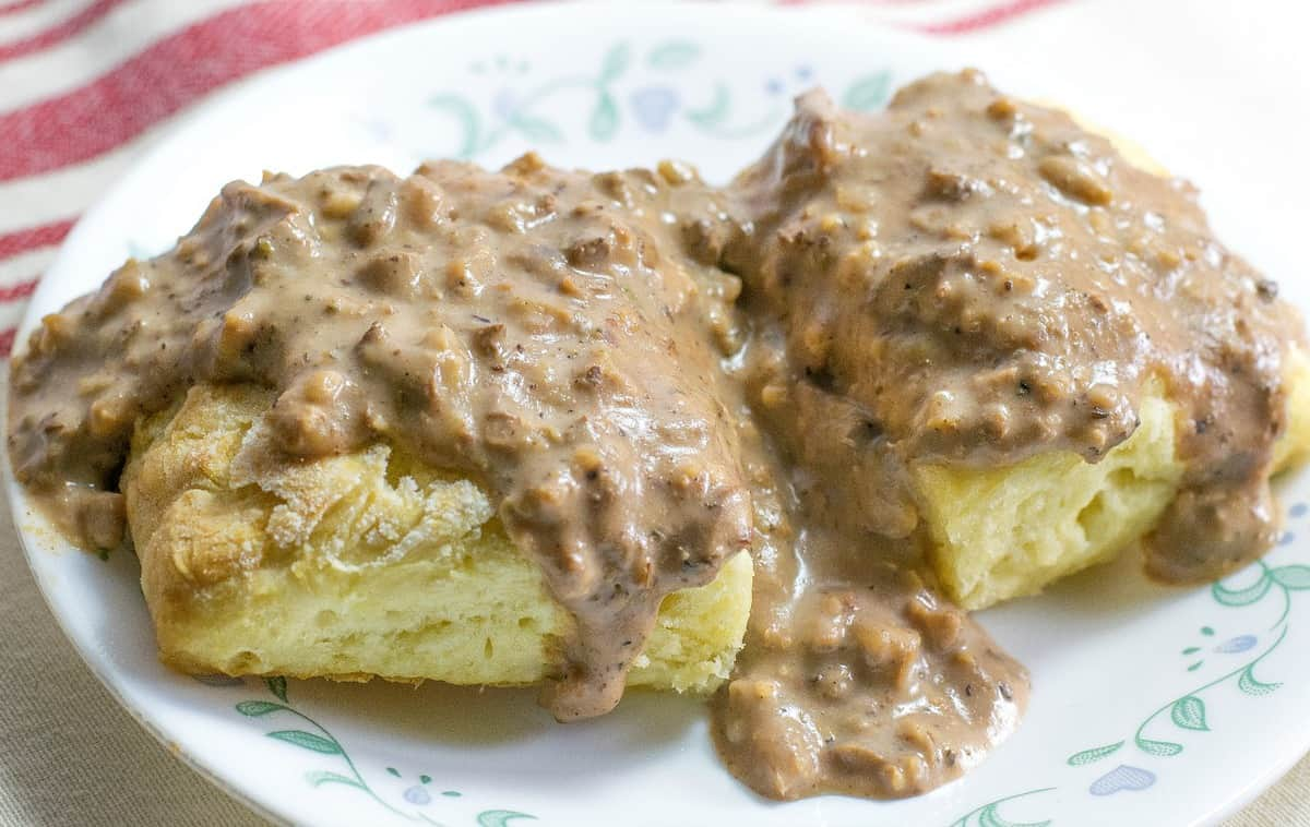 Vegan Country Sausage Gravy 2