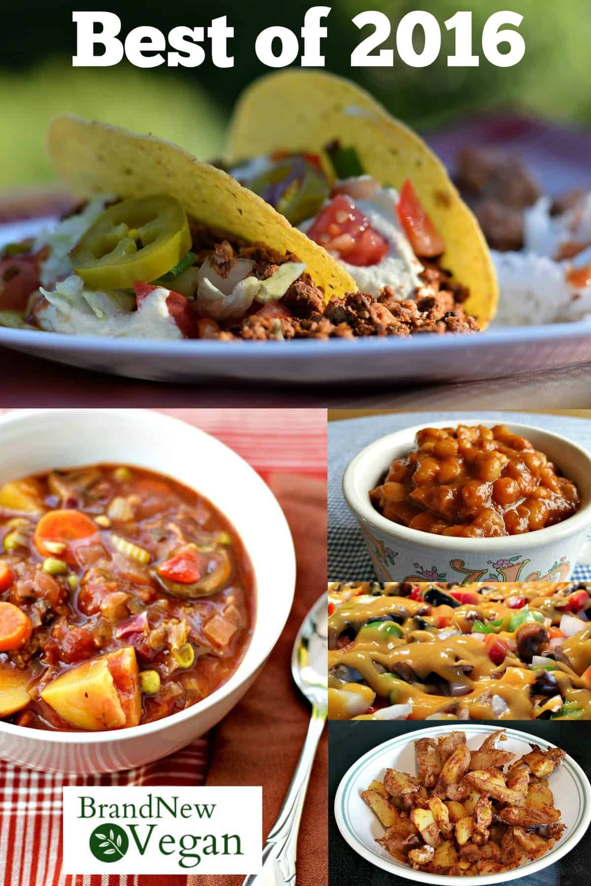 best vegan recipes of 2016
