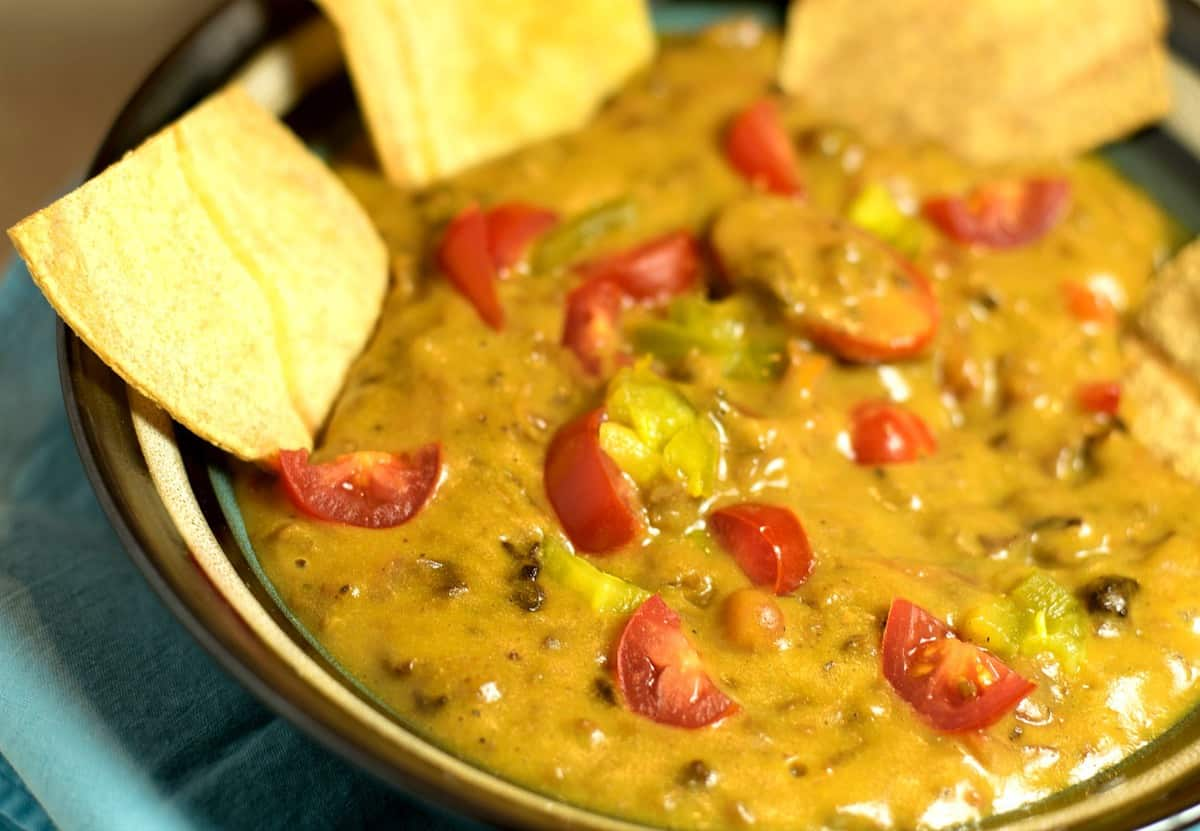vegan rotel cheese dip