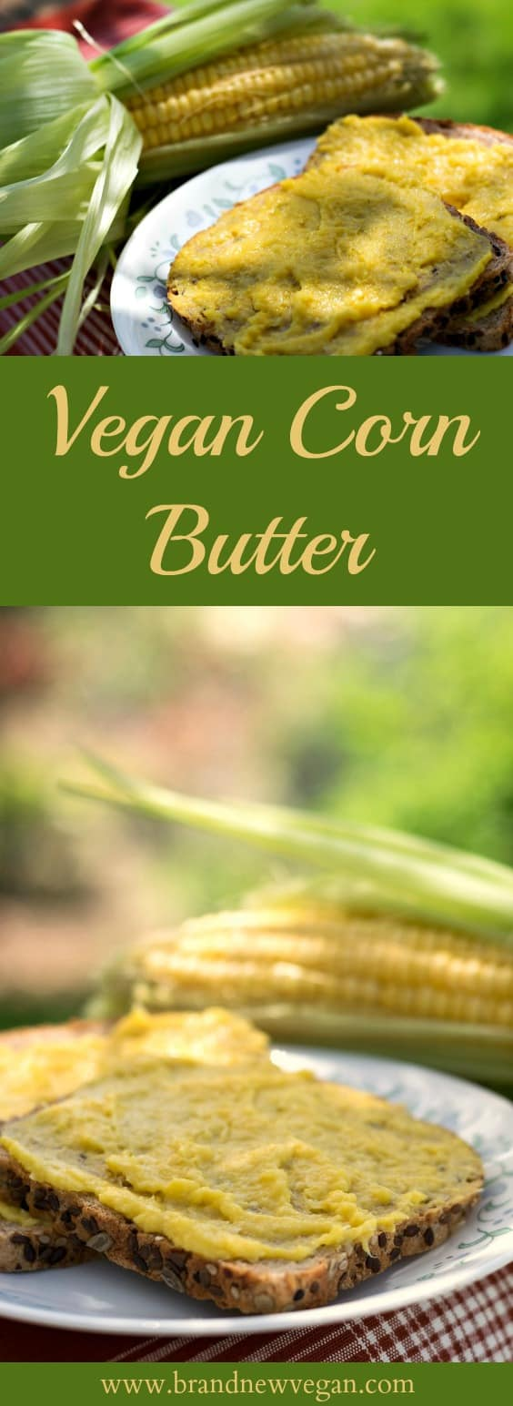 vegan corn butter pin
