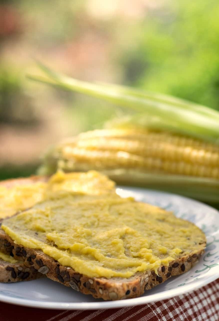 vegan corn butter