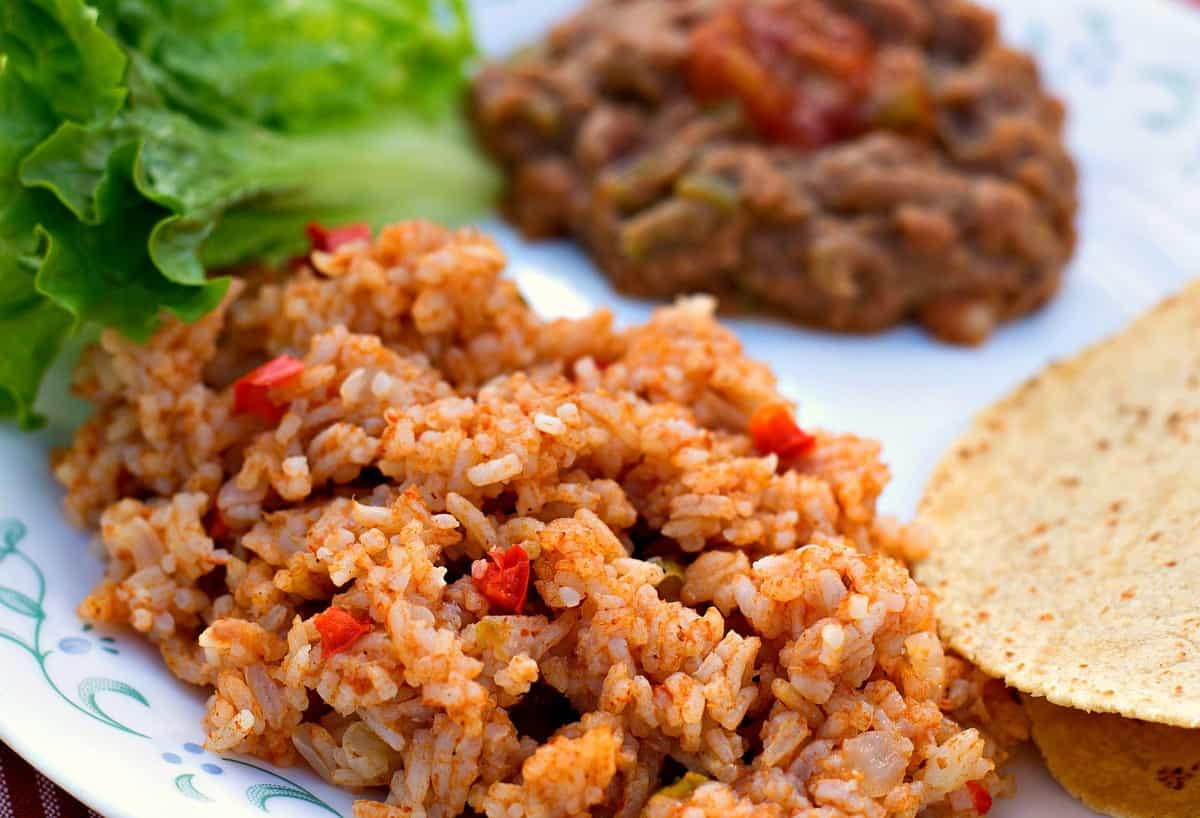 instant pot spanish rice 2