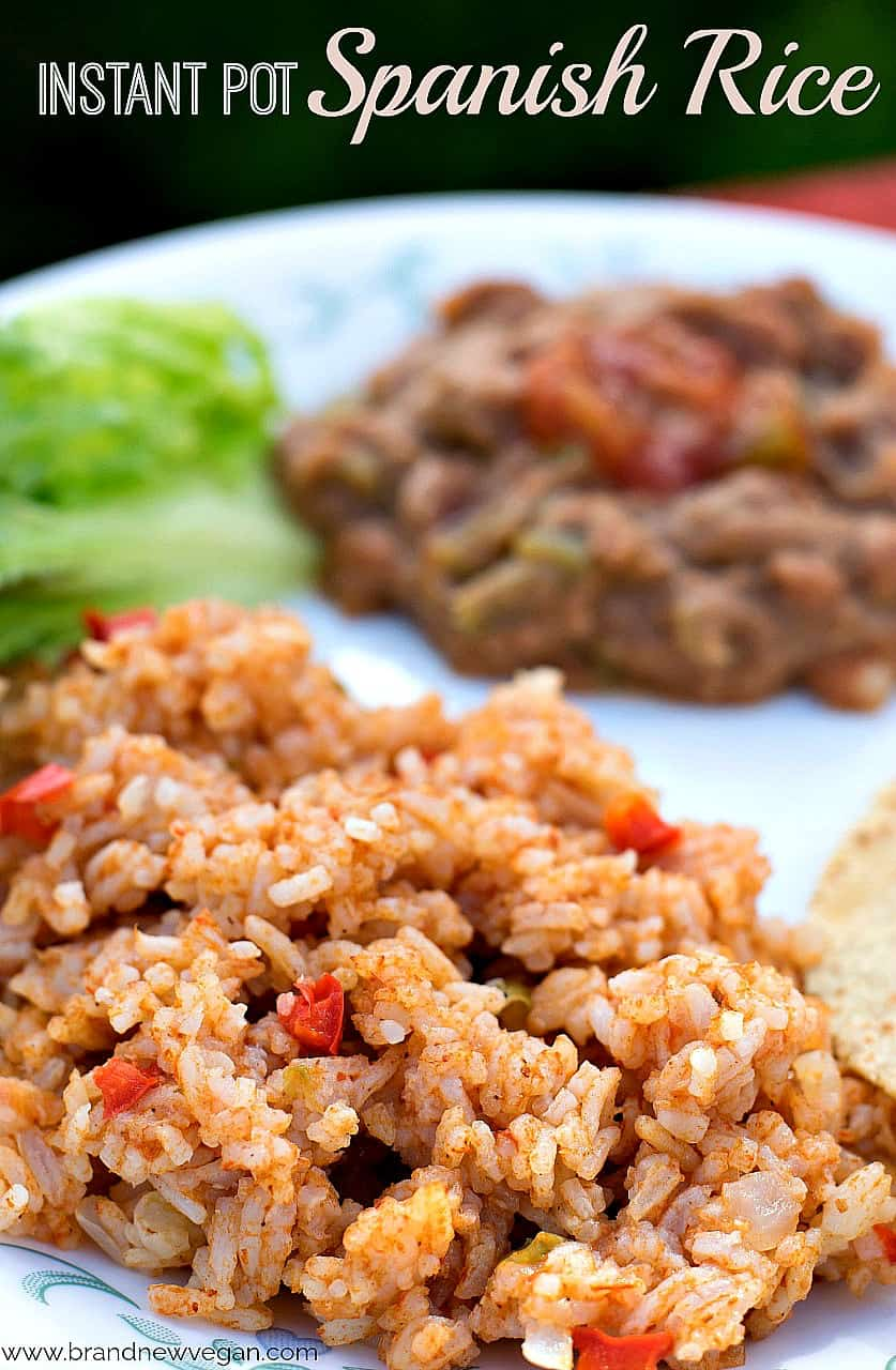 instant pot spanish rice pin