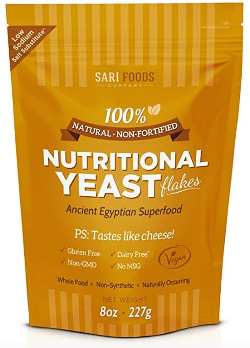 Sari Foods Company Natural Non Fortified Nutritional Yeast Flakes