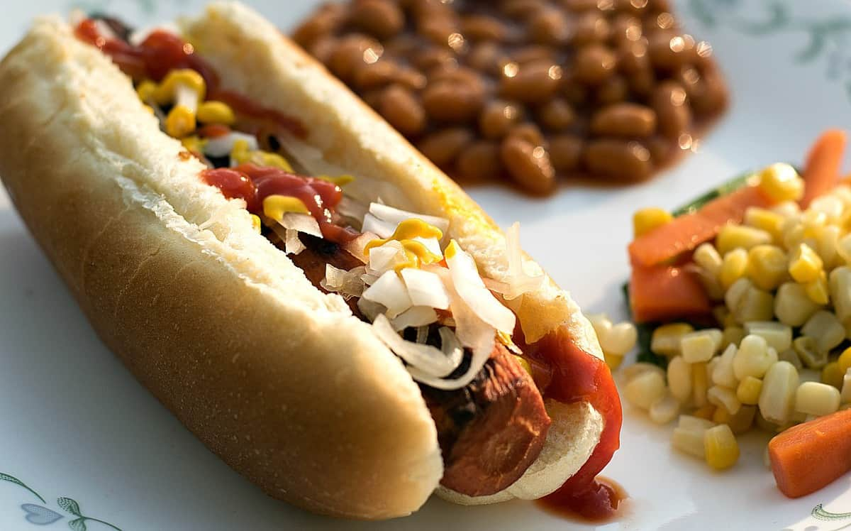 Pic Of A Got Dang Hot Dog