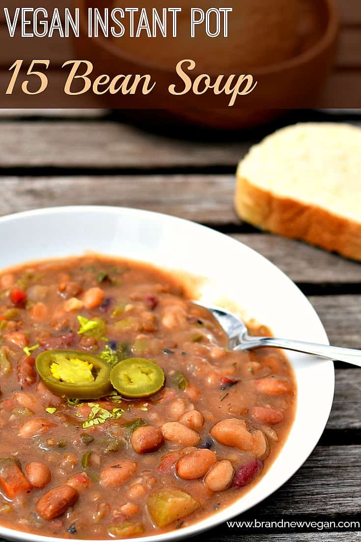 vegan 15 bean soup pin
