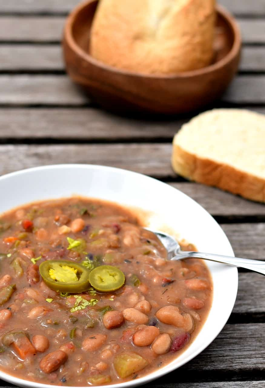 vegan 15 bean soup