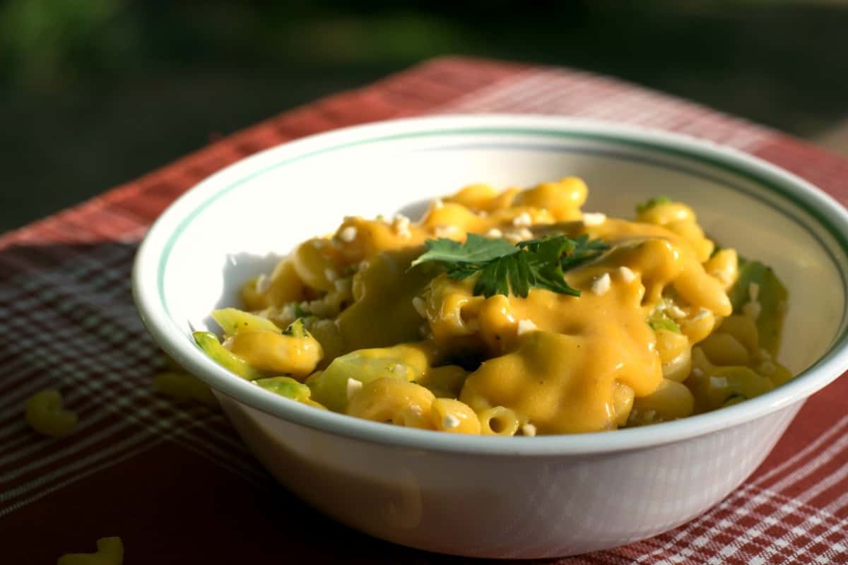 vegan mac and cheese 2