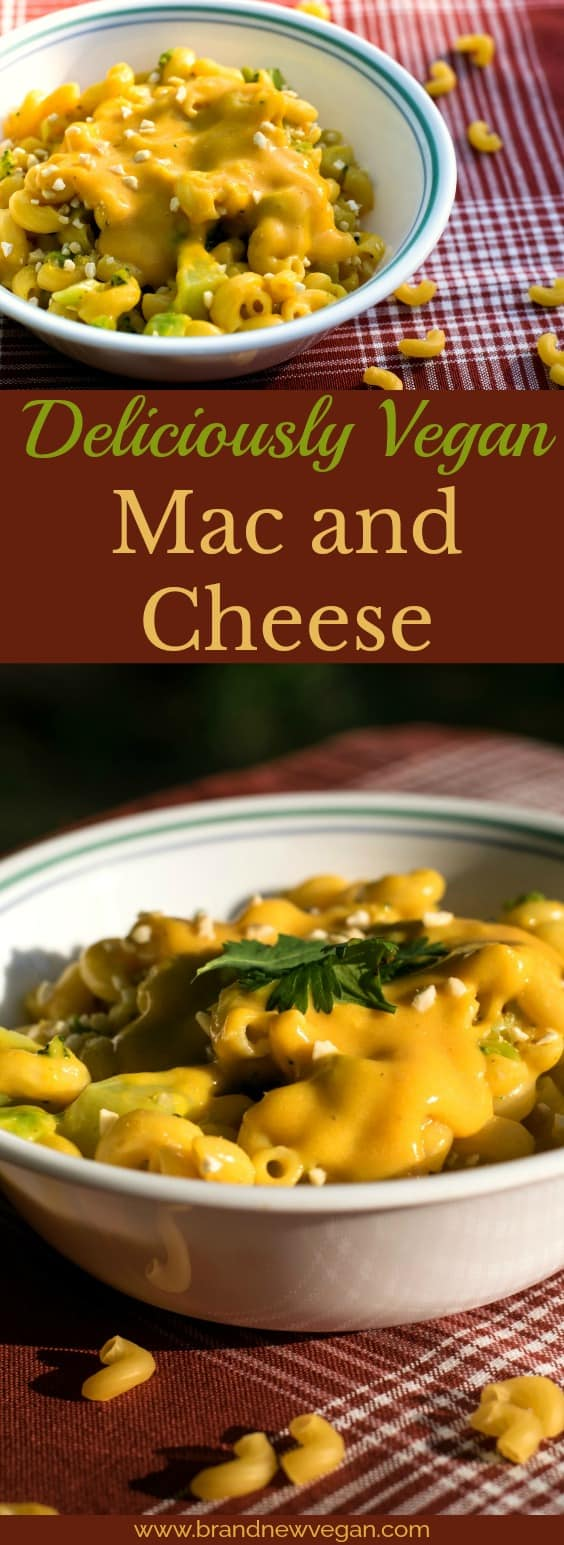 The creamiest, the cheesiest, the most decadent Vegan Mac and Cheese ever! Creamy delicious cheese, without using dairy, nuts, or tofu.