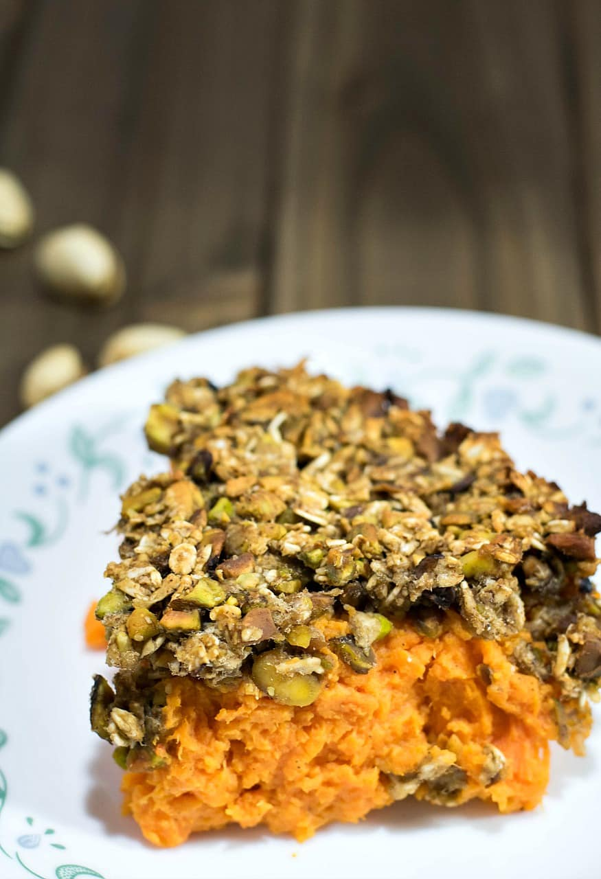 Vegan Sweet Potato Casserole 2