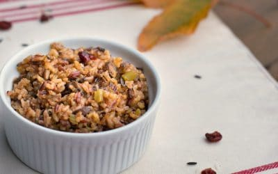 Holiday Instant Pot Wild Rice