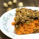 vegan sweet potato cassersole