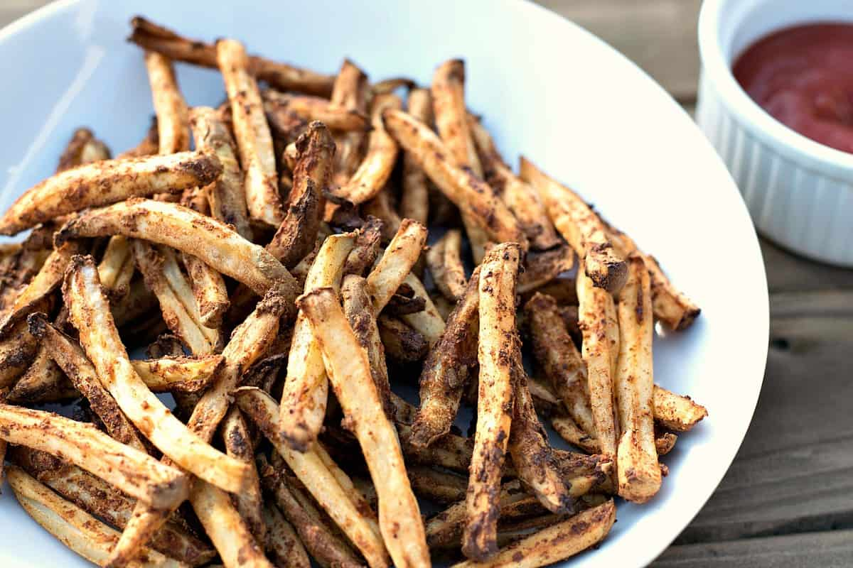Air Fryer French Fries Brand New Vegan