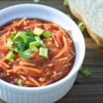 vegan sopa de fideo 2