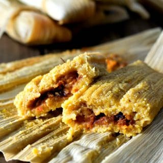 Oil Free Vegan Tamales
