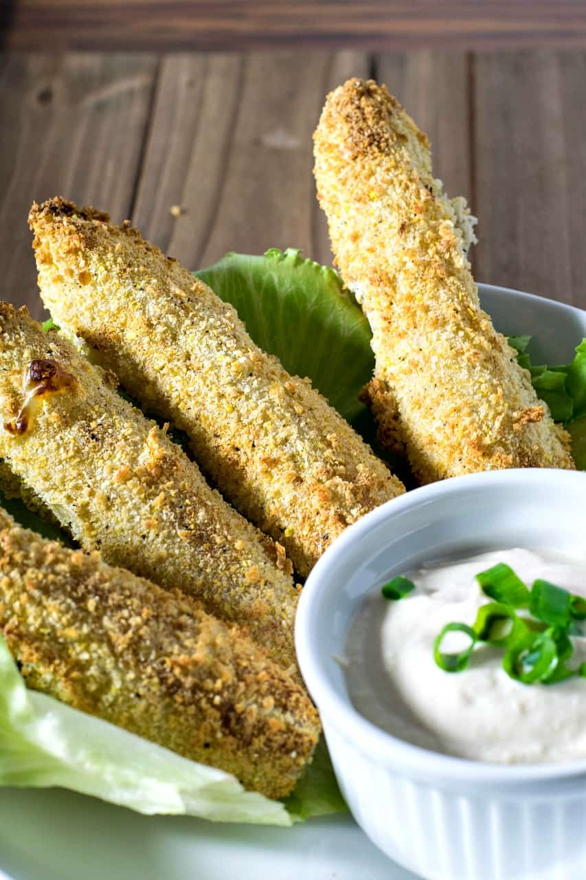 air fried pickles 2