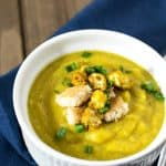 vegan roasted cauliflower soup 2